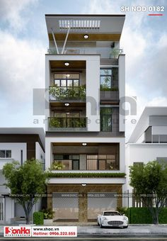 Residential Building Design, Architecture Building Design, Home Building Design, Modern Architecture House, Modern Buildings, House Outer Design, Modern Small House Design, House Front Design, 3 Storey House Design