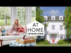 Take A Tour Of This Upstate New York Dream Home | At Home With Joyann King | Harper's BAZAAR - YouTube Out Of Your Mind, Home Tv, Upstate New York, Harpers Bazaar, House Tours, Home Office, King, Interior Design, Youtube