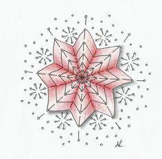 Muster Mixer #14   Freude mit Zentangle