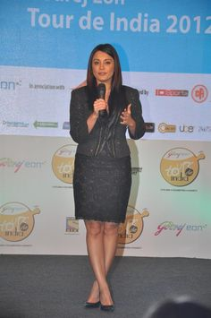 Minissha Lamba at Godrej EON Tour De India Launch. | Bollywood Cleavage