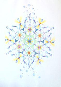 """Hallo Mandala- en haakliefhebbers welkom op mijn nieuwe blog!  Mijn naam is Ada Bouman, en één van mijn grote passies is mandalatekenen. Graag zou ik 'de hele wereld' willen laten weten wat een prachtige processen (rust, ontspanning en ont-wikkeling) er zich in mensen kunnen voltrekken wanneer ze aan de slag gaan met het tekenen van deze, vaak geometrische, vormen. Ook vind je hier de vertrouwde pagina.....""""Haaksels en zo""""......  Ik wens je veel kijkplezier én vooral veel inspiratie..."""