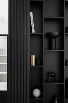 Shelving Design, Shelf Design, Cabinet Design, Office Interior Design, Office Interiors, Interior Design Inspiration, Venetian Plaster Walls, Interior Architecture, Living Room Designs