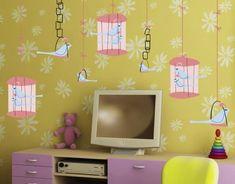 kreative kinderzimmer | 25 kreative Ideen für Kinderzimmer – Themendekoration mit Vögeln