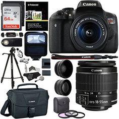 Ritz Camera Canon EOS Rebel T6i 24.2 MP SLR Camera Bundle with Accessory (19 Items) - http://allcamerasportal.com/ritz-camera-canon-eos-rebel-t6i-24-2-mp-slr-camera-bundle-with-accessory-19-items/