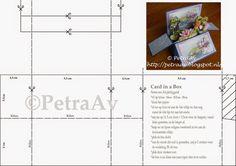 PetraAv's Creaties: Card in a Box