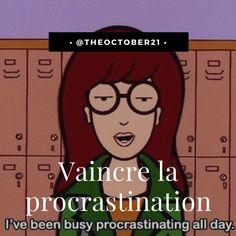 Nouvel article : vaincre la procrastination    #Humeur #blog #blogging #lifestyle