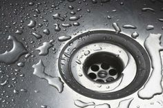 How to unclog a blocked drain: 1. Pour 1 cup of baking soda into the clogged drain.  2. Follow with 1 cup of white vinegar.  3. Allow mixture to bubble, froth, and then subside.  4. Pour in a kettle of boiling water until the drain flows smoothly.  5. Finish by running a few eggshells (or ice cubes) through the garbage disposal to clean any greasy blades.