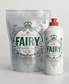 FAIRY Special Diamond JubileeEdition - The Dieline -