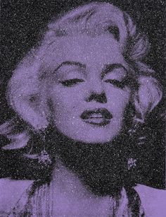 From Maddox Gallery, Russell Young, Marilyn Monroe - Atomic Silver Unique Diamond Dusted Silkscreen, 157 × 122 cm Marilyn Monroe Cuadros, Arte Marilyn Monroe, Marilyn Monroe Decor, Marilyn Monroe Wallpaper, Marilyn Monroe And Audrey Hepburn, Marilyn Monroe Portrait, Young Marilyn Monroe, Jane Fonda, Jim Morrison