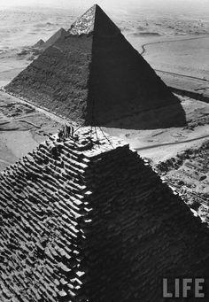 The Pyramids, life magazine, circa 1940's