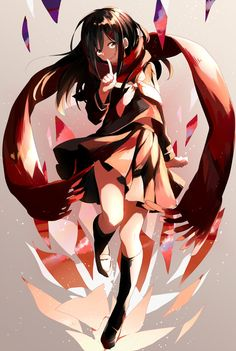 Ayano Tateyama | Kagerou Project Artwork by 秋月ぶらんこ (click on the photo to visit the source!)