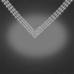 NL8260 Rhinestone Necklace Clear - from Newbridge Silverware online store Ireland