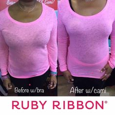 b187007739520 Ruby Ribbon · Before and After. Go ahead and ditch your bra!! Have we got  your