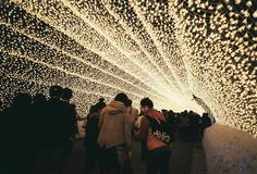 a tunnel of fairylights! My dream!