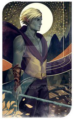 Tarot - Dragon Age by Laovaan.deviantart.com on @DeviantArt