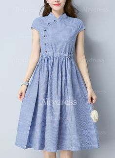 Cute Dresses, Tops, Shoes, Jewelry & Clothing for Women Trendy Dresses, Simple Dresses, Cute Dresses, Casual Dresses, Girls Dresses, Frock Fashion, Fashion Dresses, Vestidos Vintage, Vintage Dresses