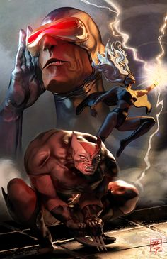 X-men Cover Illustraiton by grantparsley on deviantART