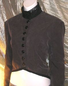 Victorian Corset Jacket Tux Tail Coat Steampunk Goth Lolita Cosplay Tuxedo Whitby DIY 14/16. $49.99, via Etsy.