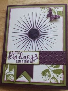 Stampin' Up! Kinda Eclectic, Stamp & Scrap with Frenchie: Frenchie's team Sketch