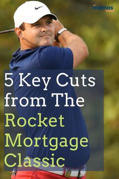 5 Key Cuts from the Rocket Mortgage Classic This weekend, the PGA Tour Returned to the Detroit Golf Club in Detroit, Michigan for the Rocket Mortgage Classic. Even though the field wasn't necessarily star-studded, the cut was still set high at five under. Here are four key players who missed the cut at the Rocket Mortgage Classic. #PGA #RocketMortgageClassic