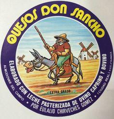 5 ETIQUETAS QUESO DOLOSAL,PERRONA, EL PASTOR,DON SANCHO, VINTAGE CHEESE LABELS.   eBay