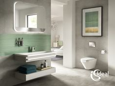 Ideal Standard, a leading provider of innovative and design-driven bathroom solutions, will be launching its new Tonic II collection in the Middle East region this September. Small Bathroom Furniture, Modern Bathroom, New Bathroom Designs, Bathroom Interior Design, Furniture Sets Design, Bathroom Suppliers, Ideal Standard, Italia Design, Buying A New Home
