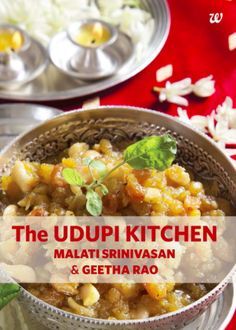 Sindhi cuisine pdf cookbooks pinterest cuisine all vegetarian the udipi kitchen by malati srinivasan geetha rao sumanas review of indian cookbooksouth indian foodbook forumfinder Gallery