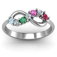 Infinity Family Ring #jewlr