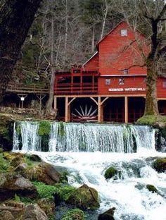 Moinho de água de Hodgson, Missouri, EUA !!! (35 pieces)
