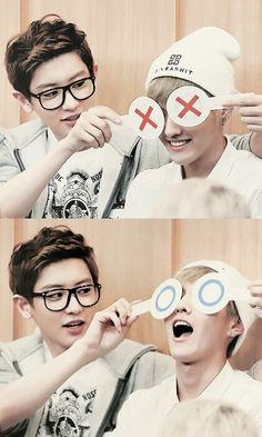 Exo - Park Chanyeol & Kris KrisWu Wufan WuYifan #Krisyeol