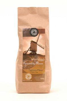 Organic Gluten Free Tapioca Flour from Infinity Foods
