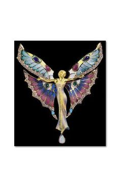 Gem and Diamond Specialists imports original Art Nouveau jewelry handcrafted in Barcelona, Spain. Artist and goldsmith Josep Arguer 100 year old designs are still hand crafted in 18 kt.