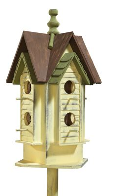 My goal has always been to have lots of bird houses as oddly enough- even though we are in the country, we don't get many birds. I already started putting out lots of feeders and see many more. Now for more houses :)