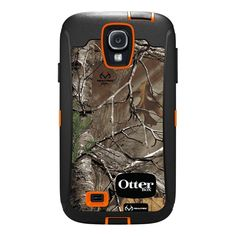 OtterBox Defender Series Case and Holster for Samsung Galaxy S4 - Realtree Camo Xtra Orange