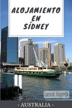 ¿Dónde dormir en la ciudad australiana? alojamiento en Sydney, consejos de barrios. #sydney #australia