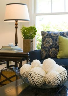 Same colors as in my living room. I need more navy accents to spread around.