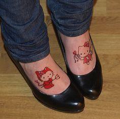 hello kitty tattoo. by ~simoendli on deviantART
