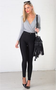 Tight Is Right jeggings in black | SHOWPO Fashion Online Shopping $49 These high-waisted leggings will elongate you legs, giving you perfect proportions and the appearance of a teeny tiny waist. Their stretchy fabric ensures absolute comfort and a perfect fit, giving a twist to the classic basic.