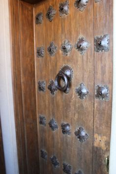 Hearst Castle CA. Cloister walkway door details. Julia Morgan & WR Hearst