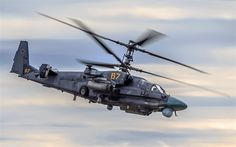 Ka-52, Alligator, helicopters, air combat, attack helicopter, Hokum B