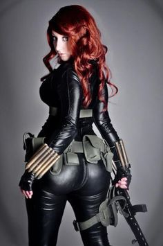 Black Widow got back..well thats um definetly an asse!