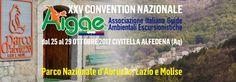 Civitella Alfedena Congresso Nazionale delle Guide Ambientali Escursionistiche Italiane