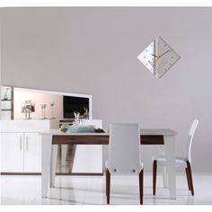 Nástěnné hodiny se vzorem motýla - dumdekorace.cz Office Desk, Dining Table, Furniture, Home Decor, Desk Office, Decoration Home, Desk, Room Decor, Dinner Table