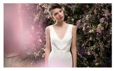 Blanck Dress fron the 2014 Alon Livne White Collection