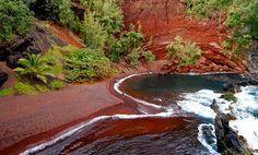 red-sand-beach