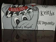 Mailboxs  Alabama mailbox  Hand Painted mailbox от JackJacksWayart