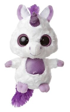 "5"" Aurora Plush Yoo Hoo & Friends Unicorn Horse Stuffed Animal Toy 29035 NEW #Aurora #YooHooFriends"