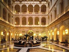 Boscolo Budapest Lobby