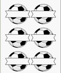 Soccer Snack Tag Printables - write the names of the children in the spaces and attach to their snack or party bag, great for some World Cup crafting too