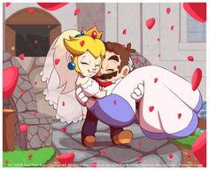 Princess peach and mario dating game